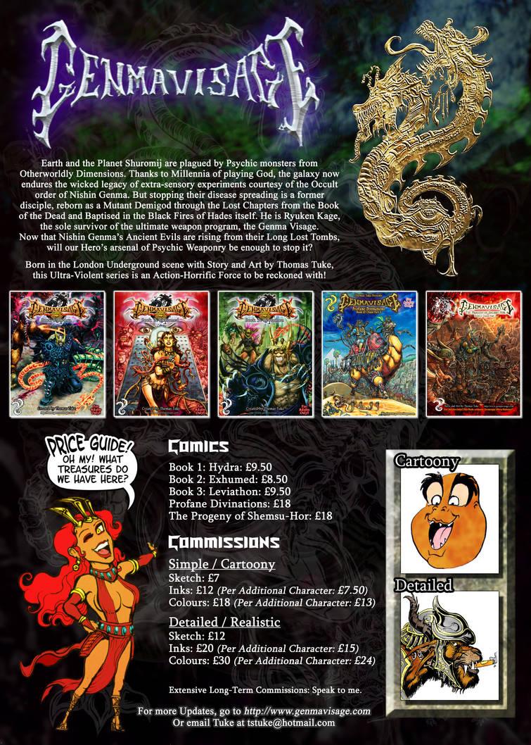 Genma Visage Commission information by MrTuke
