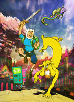 Adventure Time by MrTuke