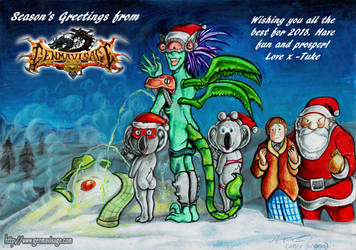 Seasons Greetings from Genma Visage by MrTuke
