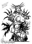 Raven Hex: Tarot Witch by MrTuke