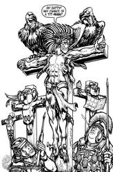 The Crucifixion of Pteradon by MrTuke
