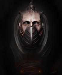 The Cyborg by CRYart-UK
