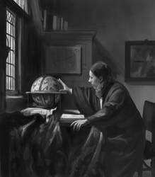 Vermeer digital painting masterstudy by Ninorabbi