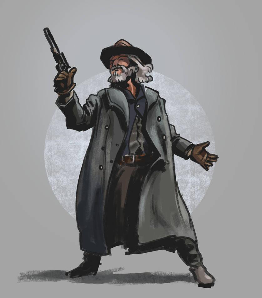 Cowboy by Ninorabbi