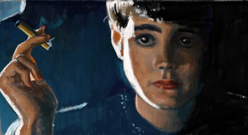 Bladerunner portrait by Ninorabbi