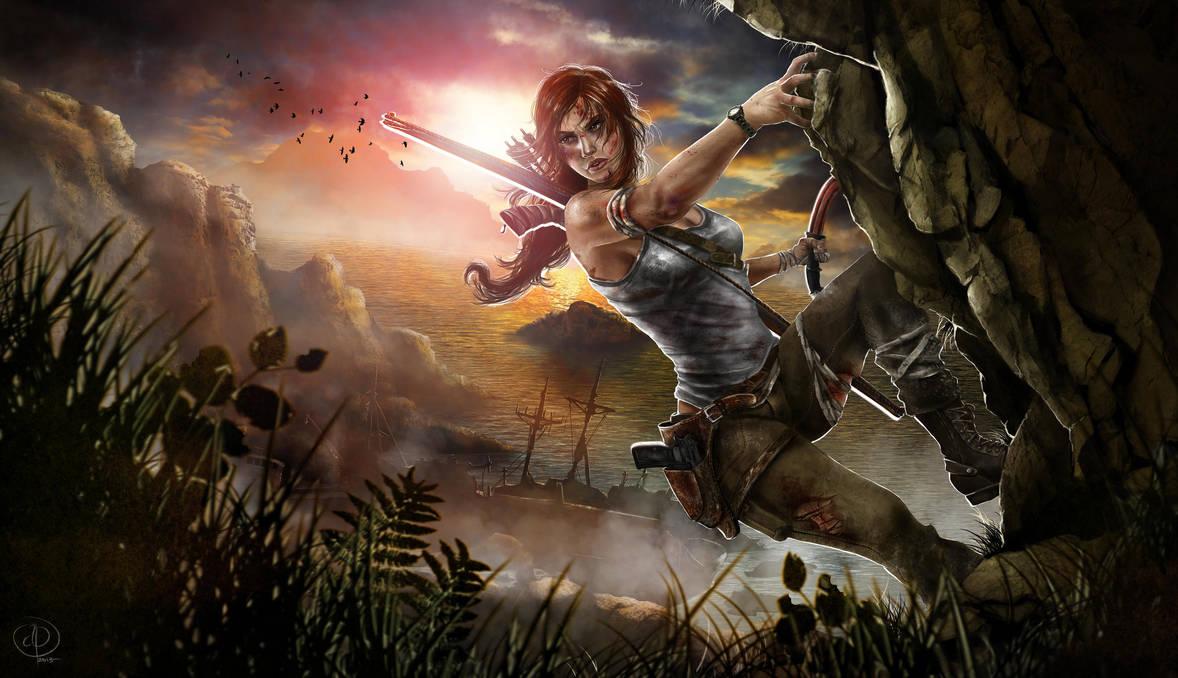 Lara Croft Tomb Raider Reborn Contest by AllieJacques