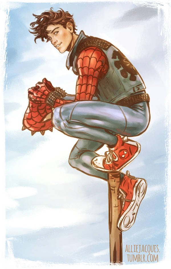 Spider Punk by AllieJacques