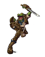 Frogman Bard by Will-E-H