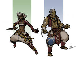 Half Orcs by Will-E-H