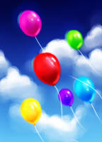 Balloons... by hyacinthum
