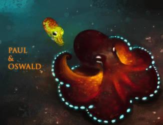 Paul and Oswald by hyacinthum