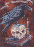 Vanitas ACEO by fingalificated