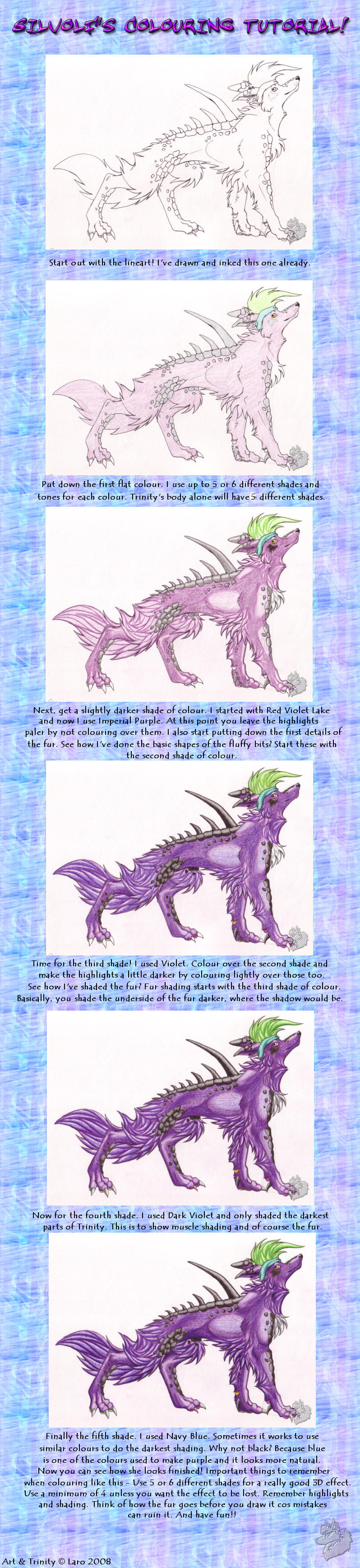Traditional Colouring Tutorial by Silvolf