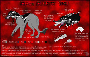 -Badger Reference Sheet- by Silvolf