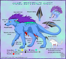 -Snarl Reference Sheet- by Silvolf