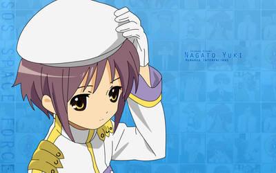 Nagato Yuki by edekock