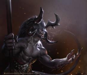 Horny Dude by Adrian-W