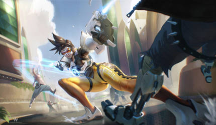 Overwatch: Tracer by Adrian-W
