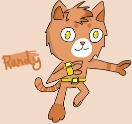 Randy The Cat by QuackerYoMeow
