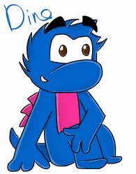 Dino by QuackerYoMeow