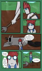 Farm Defenders - Weirdo Girl - Page 1 by QuackerYoMeow