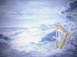 Heavenly harp by sofiko-chan