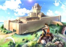 Dunan Castle by la-sera