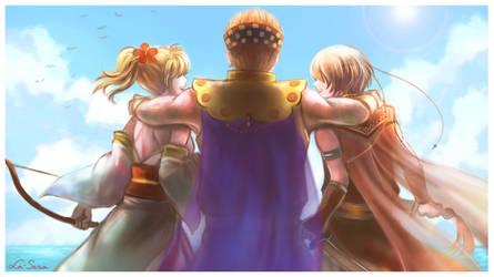 Suikoden IV: Obel Royal Family by la-sera