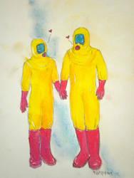 Love in the Time of Swine Flu by HugsLee13