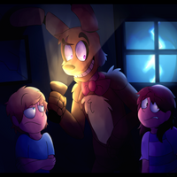 Let's go find some spoopy stuff---Contest entry by Bisguit89