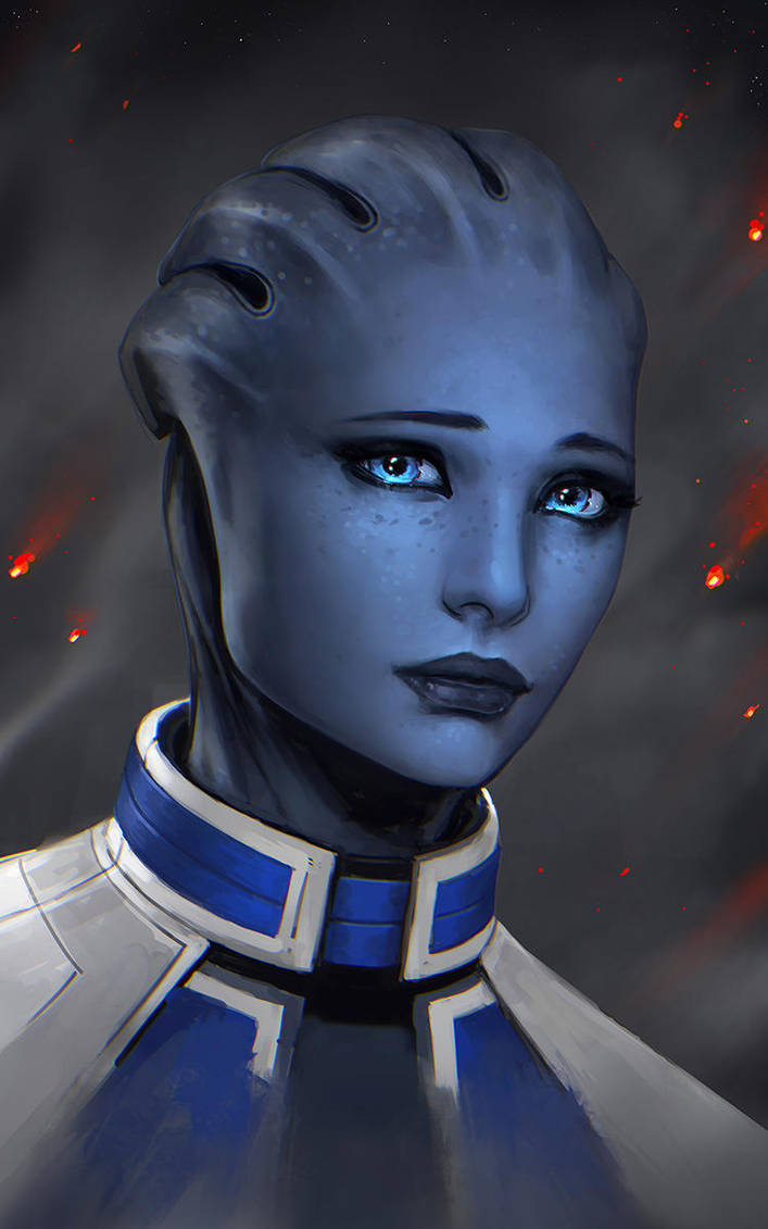 Liara by Se7enFaces