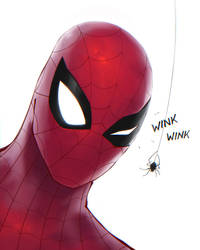 Spider-Wink by Se7enFaces