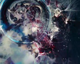 Misty stars dancefloor by 0xconfig
