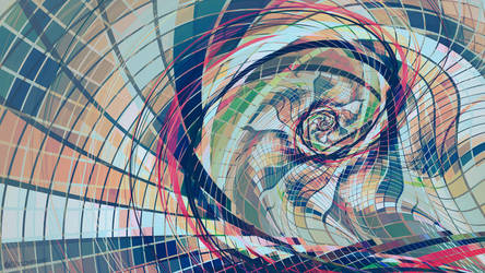 Munsell Color Spiral by 0xconfig