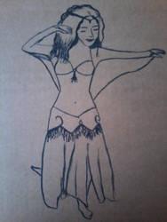 Oriental dancer by 999SunnyCat999