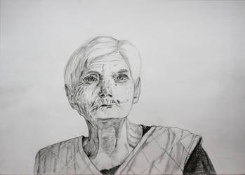 The old woman by 999SunnyCat999