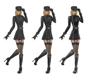 Officer concept (different fabrics) by Msyt