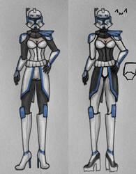 Captain Rex concept (Rexy) by Msyt