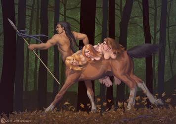 Centaur Bounty by faile35