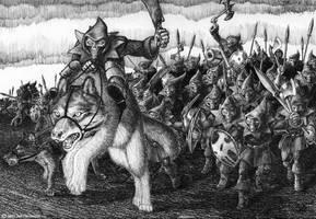 Goblin Terror - The Charge by faile35