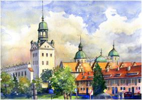 Szczecin: Pomeranian Dukes' Castle by JoaRosa