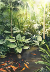 In the palm house by JoaRosa