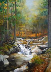 White Mountains Fall by JoaRosa