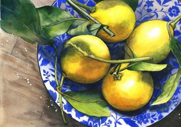 Four lemons by JoaRosa