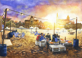 Szczecin City Beach by JoaRosa