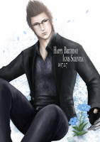 HappyBirthday Ignis!! by asahixx