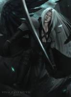 Sephiroth by asahixx