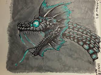 Inktober: Day One by Dragonwysper