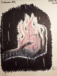 Inktober: Day Three by Dragonwysper