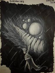 Inktober: Day Six by Dragonwysper